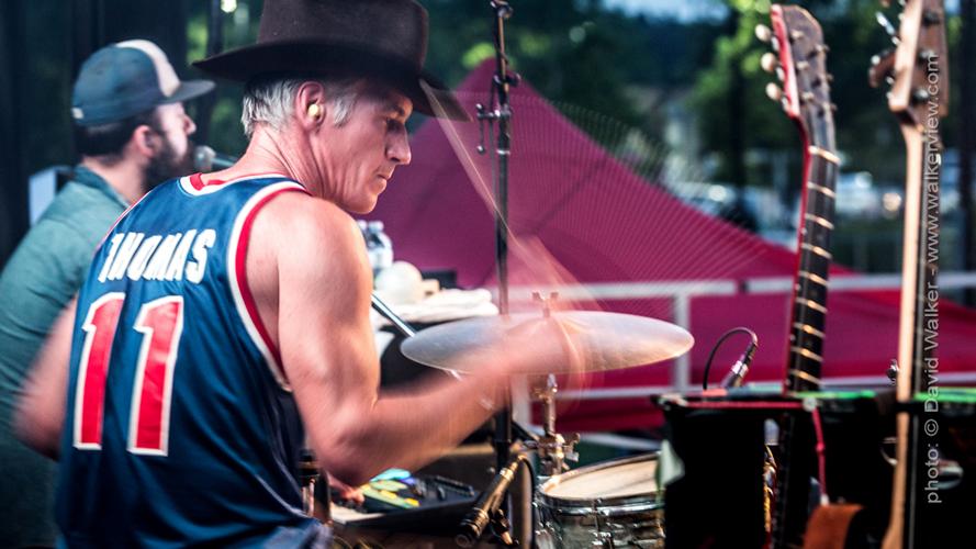 Drummer at concert Toronto Canada dance photographer David Walker