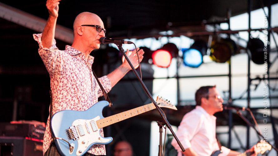 Kim Mitchell and Peter Fredette Toronto Canada performance photographer David Walker