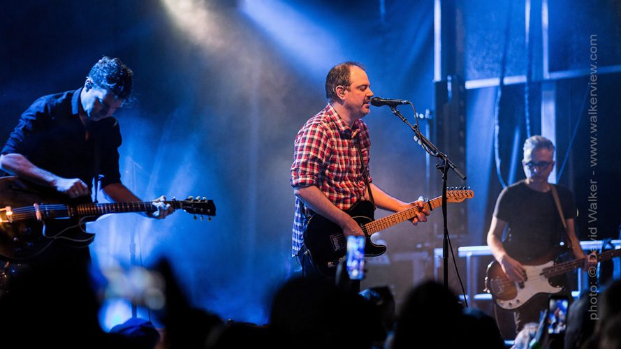 Matthew Good on stage by Toronto Canada photographer David Walker