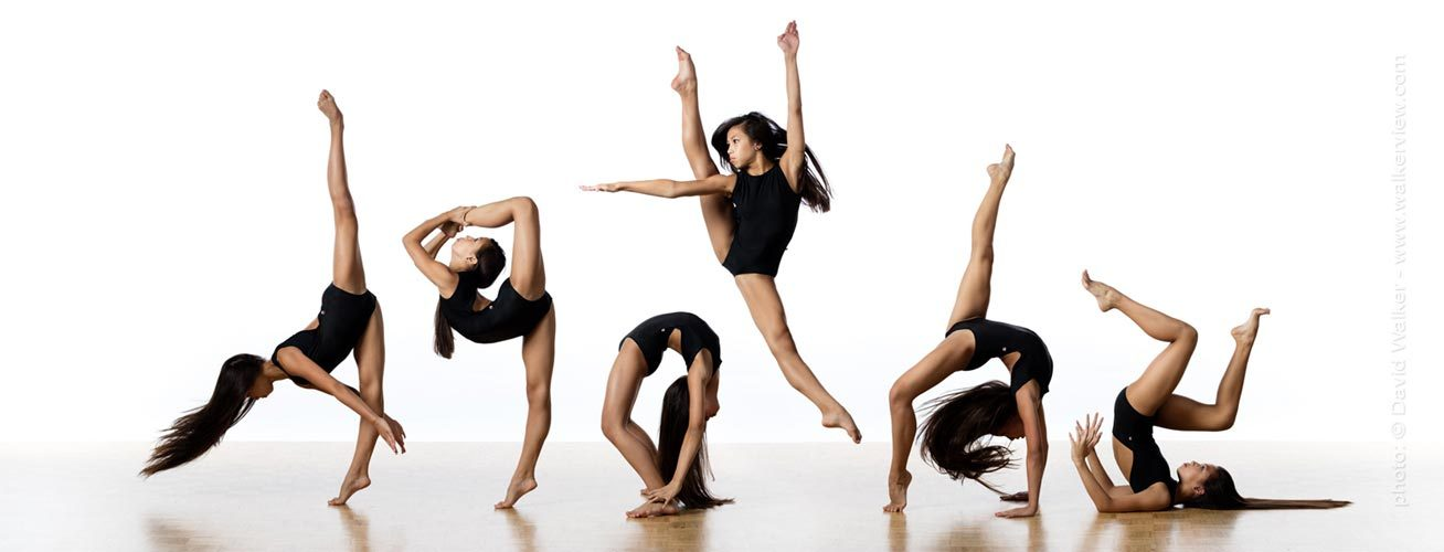 Denise Goping in the studio Toronto Canada dance portrait photographer David Walker