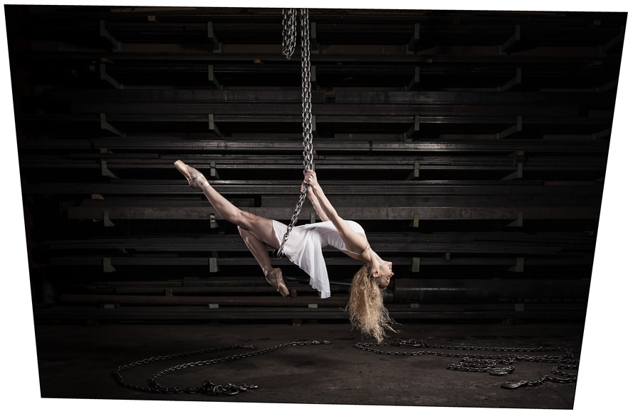 Dancer Beauty Toronto Canada portrait photographer David Walker