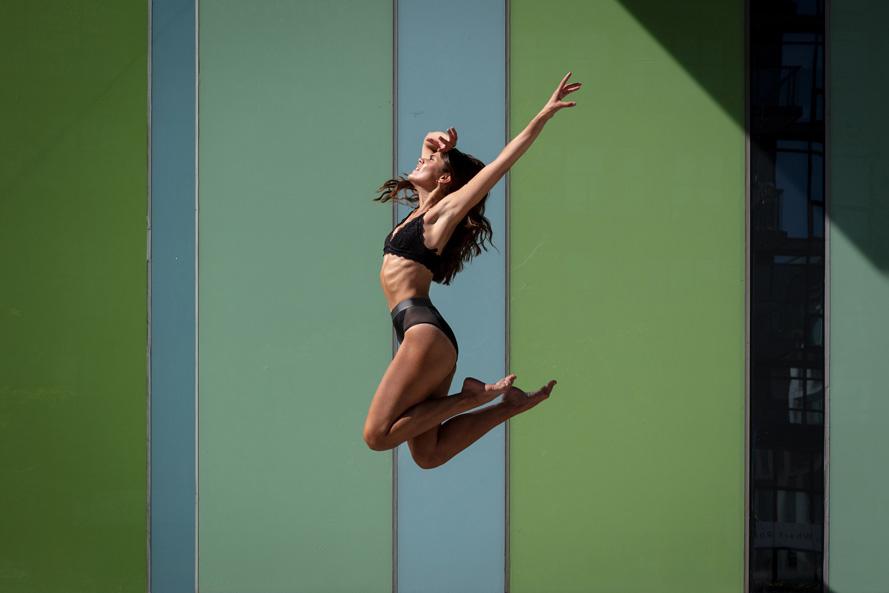 Dancer Jump Toronto Canada portrait photographer David Walker